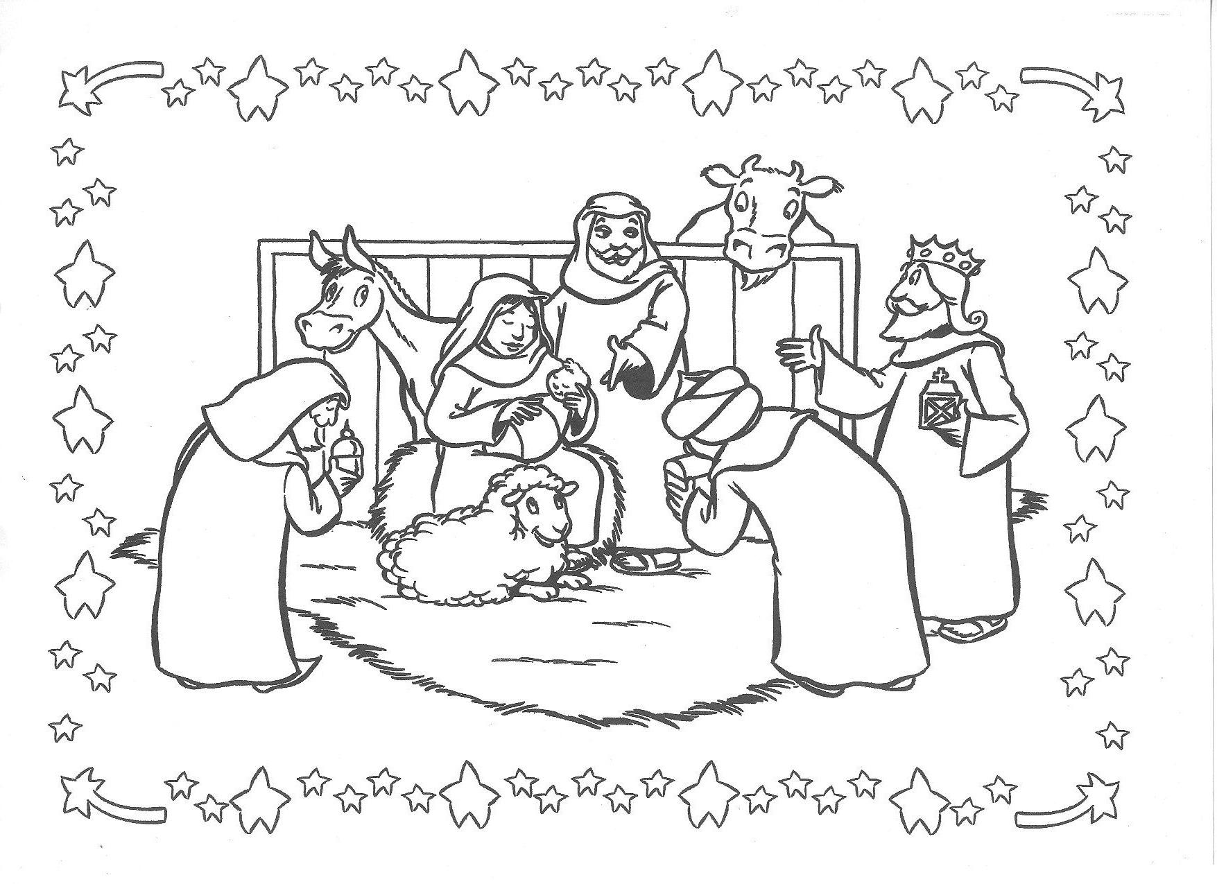 Kleurplaten Kerst Bovenbouw.Kleurplaat Kerstmis Peuters